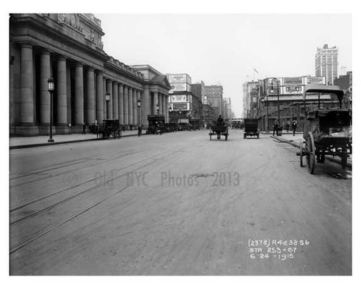 8th Avenue between 32nd & 33rd Street - Chelsea - Manhattan  1914 Old Vintage Photos and Images