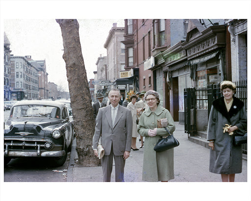 8th Avenue toward 11th Street, Park Slope Brooklyn - 1964
