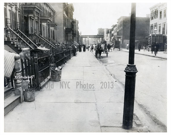 93 Skillman St. 1914 Old Vintage Photos and Images