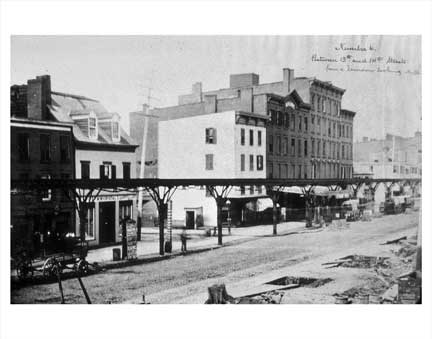 9th Ave 1876 Old Vintage Photos and Images