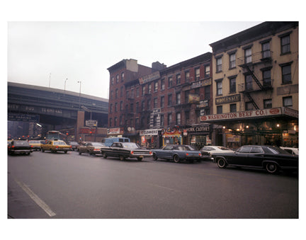 9th Ave & 41st St - Chelsea - Manhattan Old Vintage Photos and Images