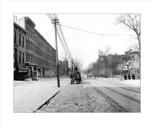 9th Street between 4th & 5th Avenues 1918 Old Vintage Photos and Images