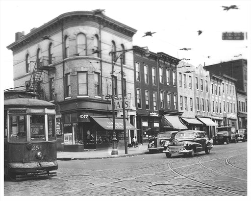 Bergen St. & Washington, Prospect Heights Brooklyn - 1947