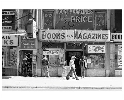 Books & Magazines Store Times Sqaure 1970s