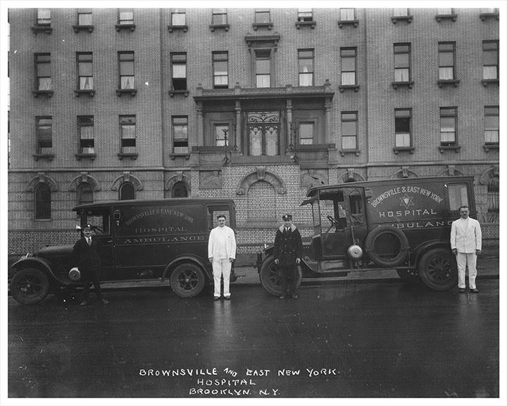 Brownsville & East New York Hospital Ambulance Old Vintage Photos, Pictures and Images
