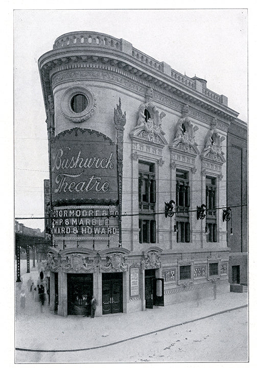 Bushwick Theater 1396 Broadway at Howard Avenue Bedford Stuyvesant 1915