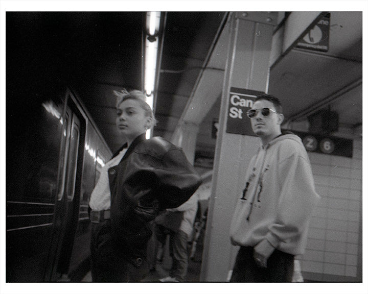 Canal Street Subway Stop - NYC 1989