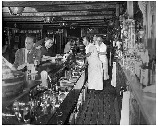 Yorkville Brooklyn German Bar Old Photos, Images & Pictures