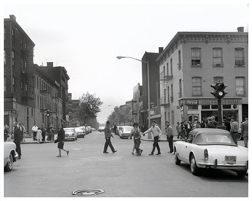 Grand Street from Humboldt Street Williamsburg 1962