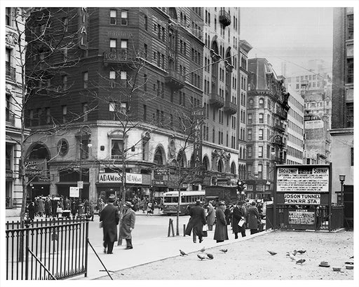 Greeley Square south to 32nd Street, New York City - 1940