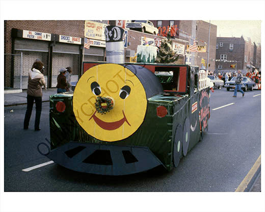 Greenpoint parade 1979 train