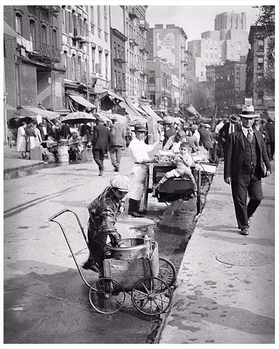 Hester & Norfolk Streets, New York City - Early 1900s