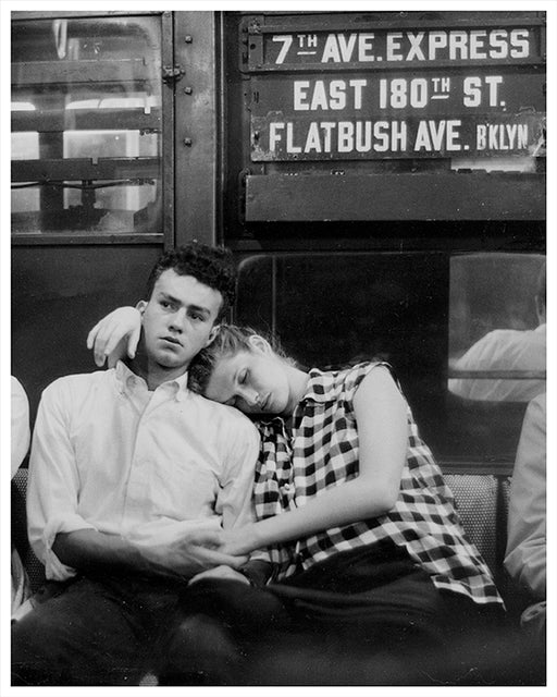 7th Ave Express Subway, Brooklyn NY - 1958