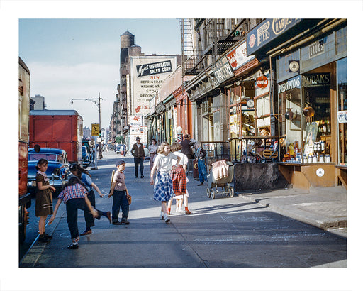 10th Avenue & West 44th Street Hell's Kitchen NYC 1952