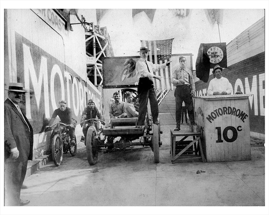 Motordrome Coney Island 1909 Photos & Images