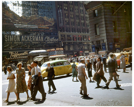 Toffenetti 1000 Seat Restaurant in Times Square -Early 1950s