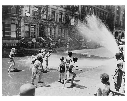 Escape the heat of the East Side, NYC - 1943