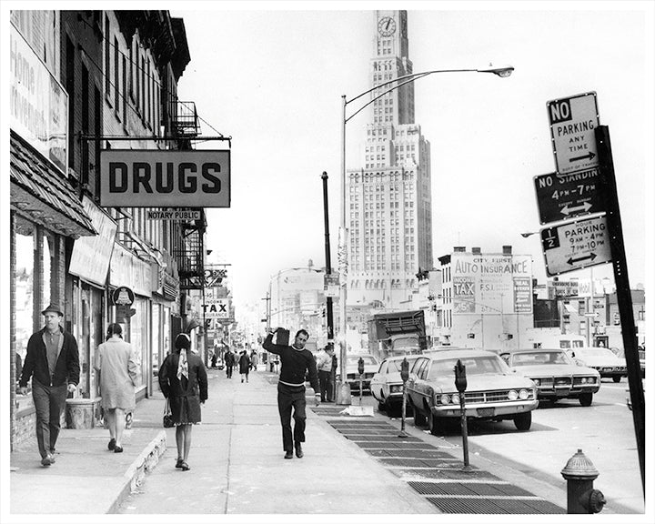 Flatbush Avenue, Park Slope Brooklyn - 1970