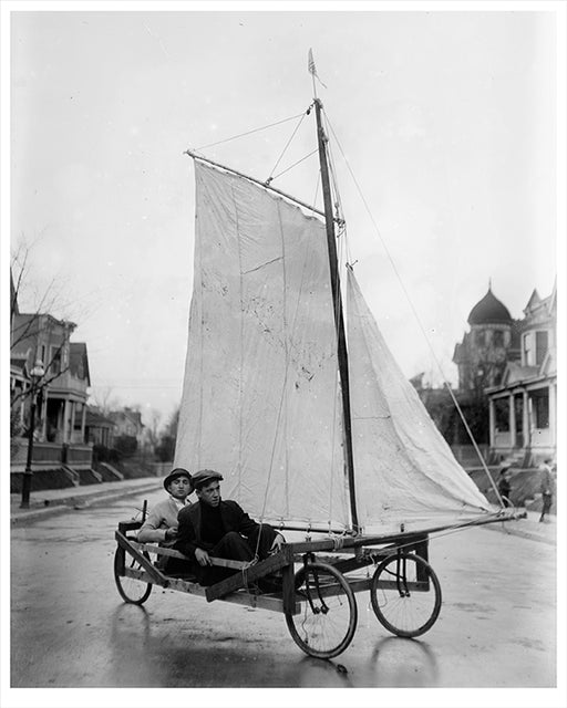 Sail Wagon, Brooklyn 1912