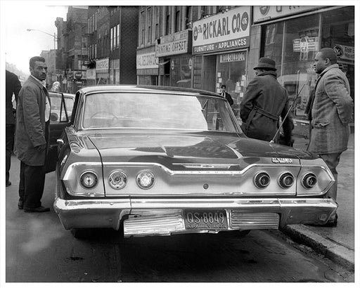 Sutter Avenue near Van Sinderen Avenue, East New York - 1964