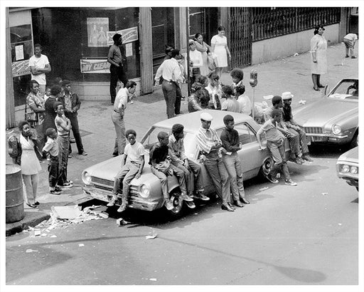 Sutter Avenue, Brownsville Brooklyn - 1971