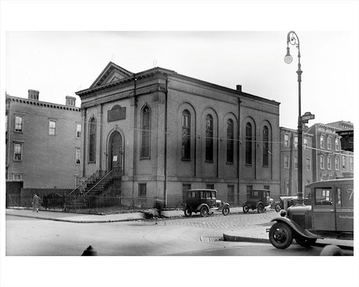Synagogue, Corner of Leonard & Stagg Streets Williamsburg Brooklyn - 1931