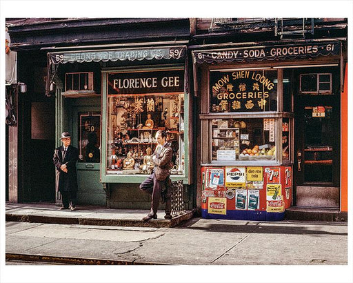 Mott Street Chinatown, 1967. Photo by Herman Goustin Photography, Photos & Images