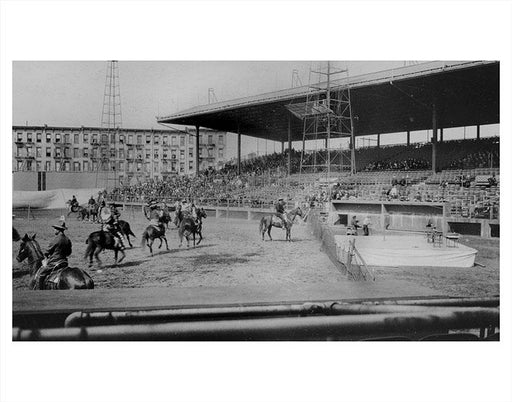 Washington Park Wild West Show Gowanus 1920