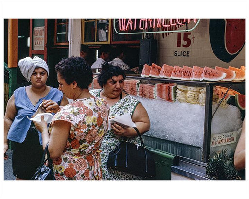 Watermelon Stand Lower East Side NYC 1960s Photos, Images & Pictures