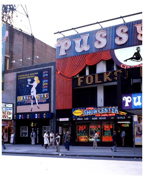 Adult Theaters in 1970s Times Square M Old Vintage Photos and Images