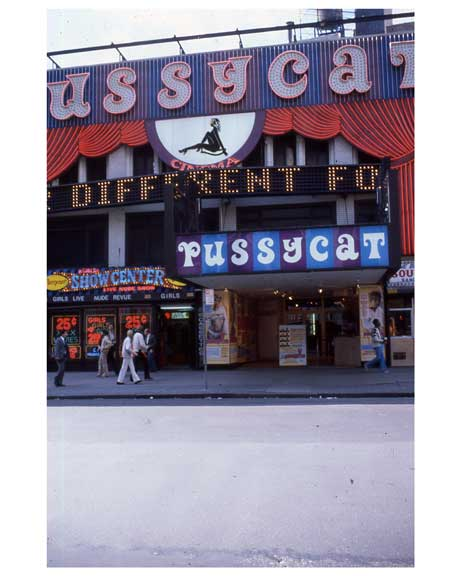 Adult theaters near 1970s Times Square XXX1 Old Vintage Photos and Images