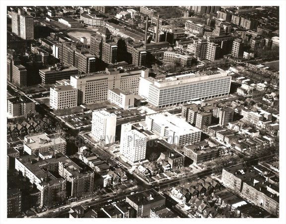 Aerial view Queens, NY Old Vintage Photos and Images