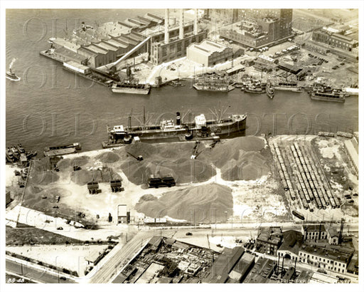 Aerial View Greenpoint Brooklyn Old Vintage Photos and Images