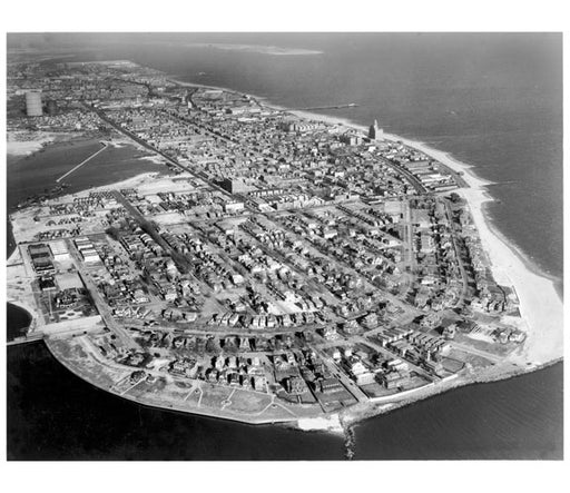 Aerial view of Seagate Old Vintage Photos and Images