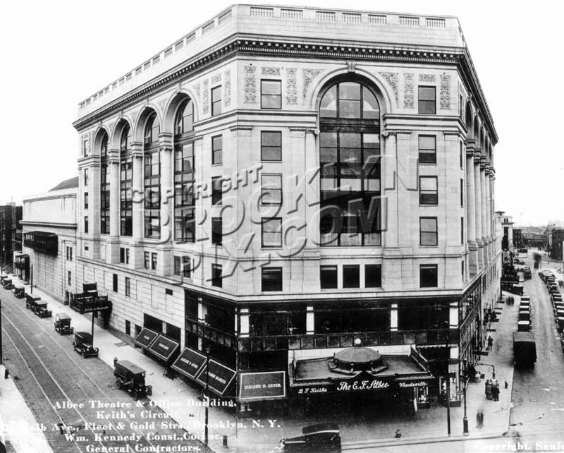 Albee Theater, official builder's photo, c.1928 Old Vintage Photos and Images