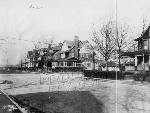 Albemarle Rd looking west to East 3rd Street, 1916 Old Vintage Photos and Images