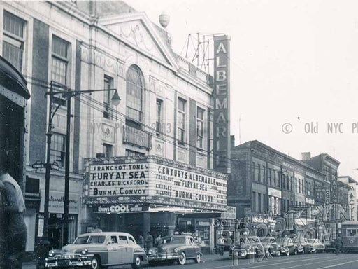Albemarle Theater, 973 Flatbush Avenue, 1950 Old Vintage Photos and Images