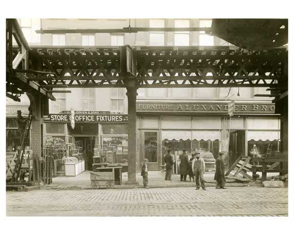 Alexander Bros. Furniture - The Bowery - between Grand & Hester Street 1915 Old Vintage Photos and Images