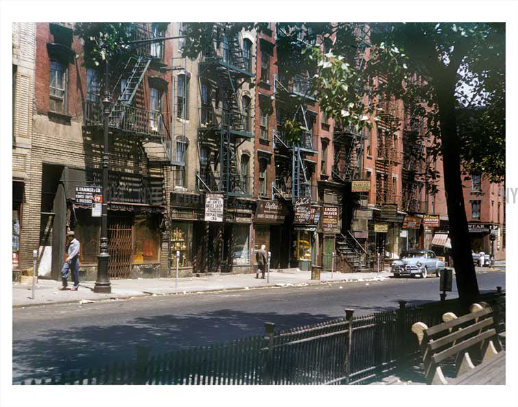 Allen St. & Hester St. Old Vintage Photos and Images