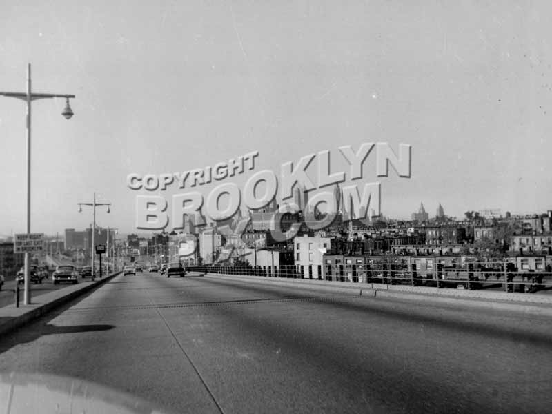 Along the Gowanus Expressway, late 1950s II Old Vintage Photos and Images