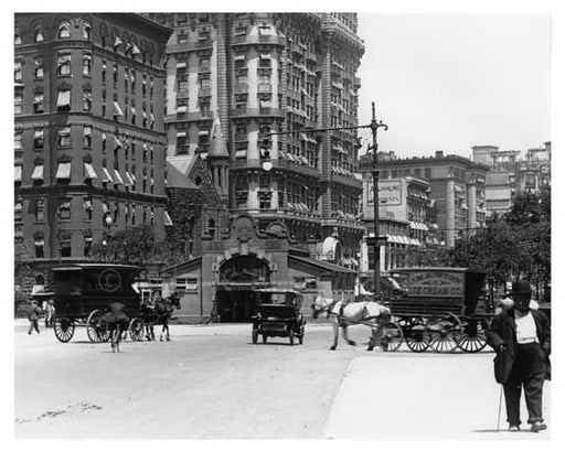 Alternate view of 72nd Street Station - Upper West Side - New York, NY 1910 BB Old Vintage Photos and Images