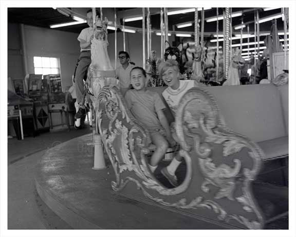 Amusement Park 1965 - Long Island, NY Old Vintage Photos and Images