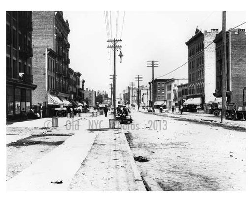 Another street view of 149th Street & Morris Avenue South Bronx, NY 1901 Old Vintage Photos and Images