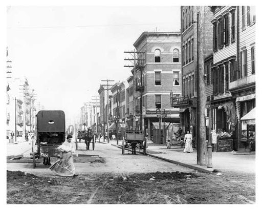 Another street view of 149th Street & Morris Avenue South Bronx, NY 1902 Old Vintage Photos and Images