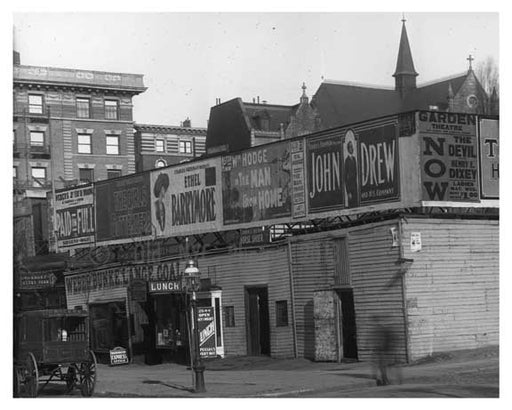 Another Upclose shot of Broadway & W. 95th Street - Upper West Side - New York, NY 1908 Old Vintage Photos and Images