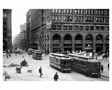 Astor Place 1919 Old Vintage Photos and Images