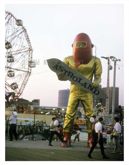 Astroland ay Coney Island Old Vintage Photos and Images