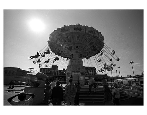 Astroland Park - Coney Island 1970s Old Vintage Photos and Images