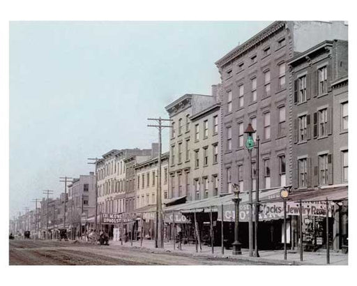 Atlantic Ave Between  Henry & Clinton 1900 Brooklyn Heights - Brooklyn NY Old Vintage Photos and Images