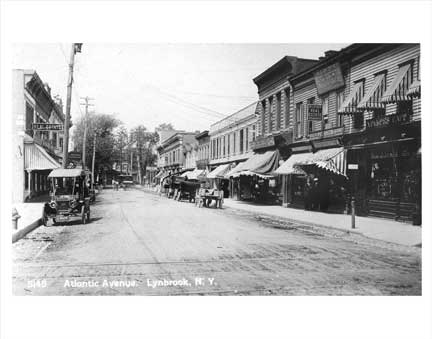 Atlantic Ave Lynbrook NY Old Vintage Photos and Images